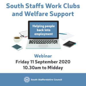 South Staffs Work Clubs Webinar