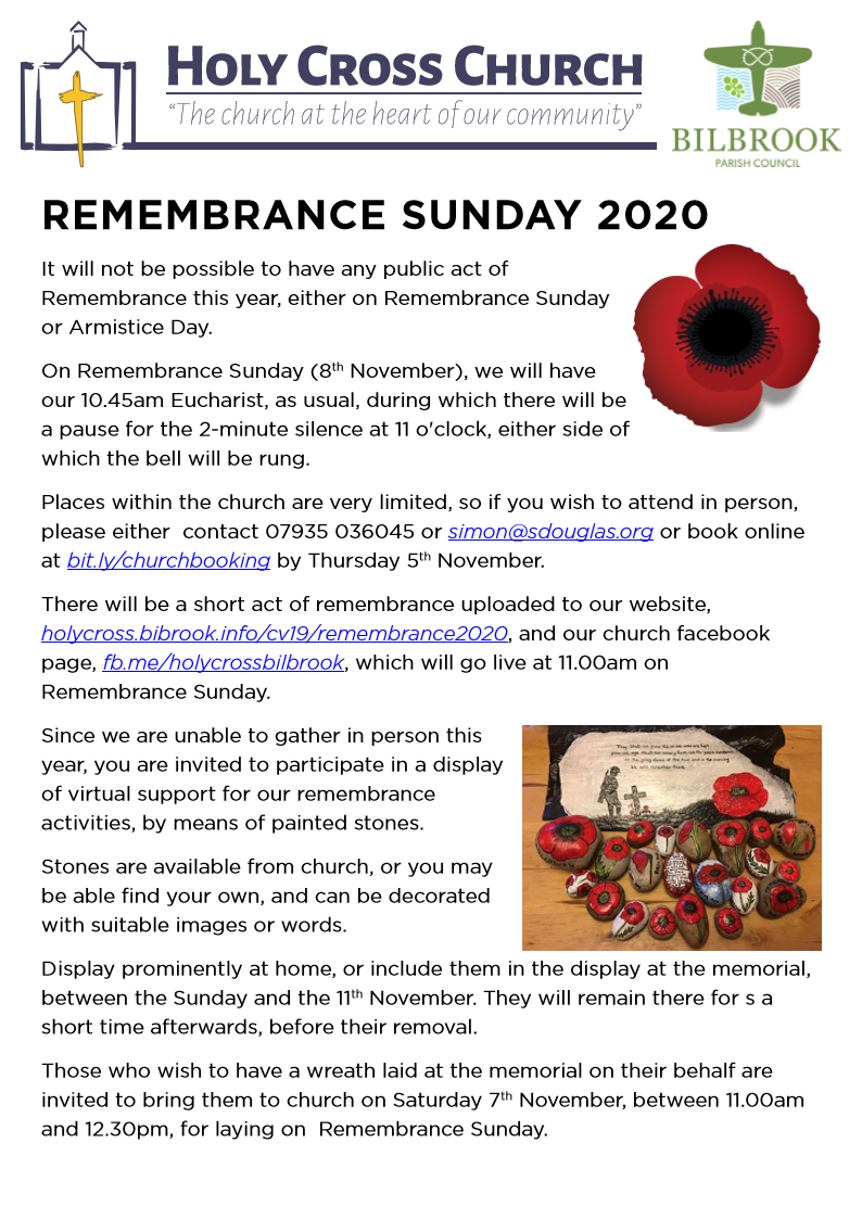 Holy Cross Church Remembrance