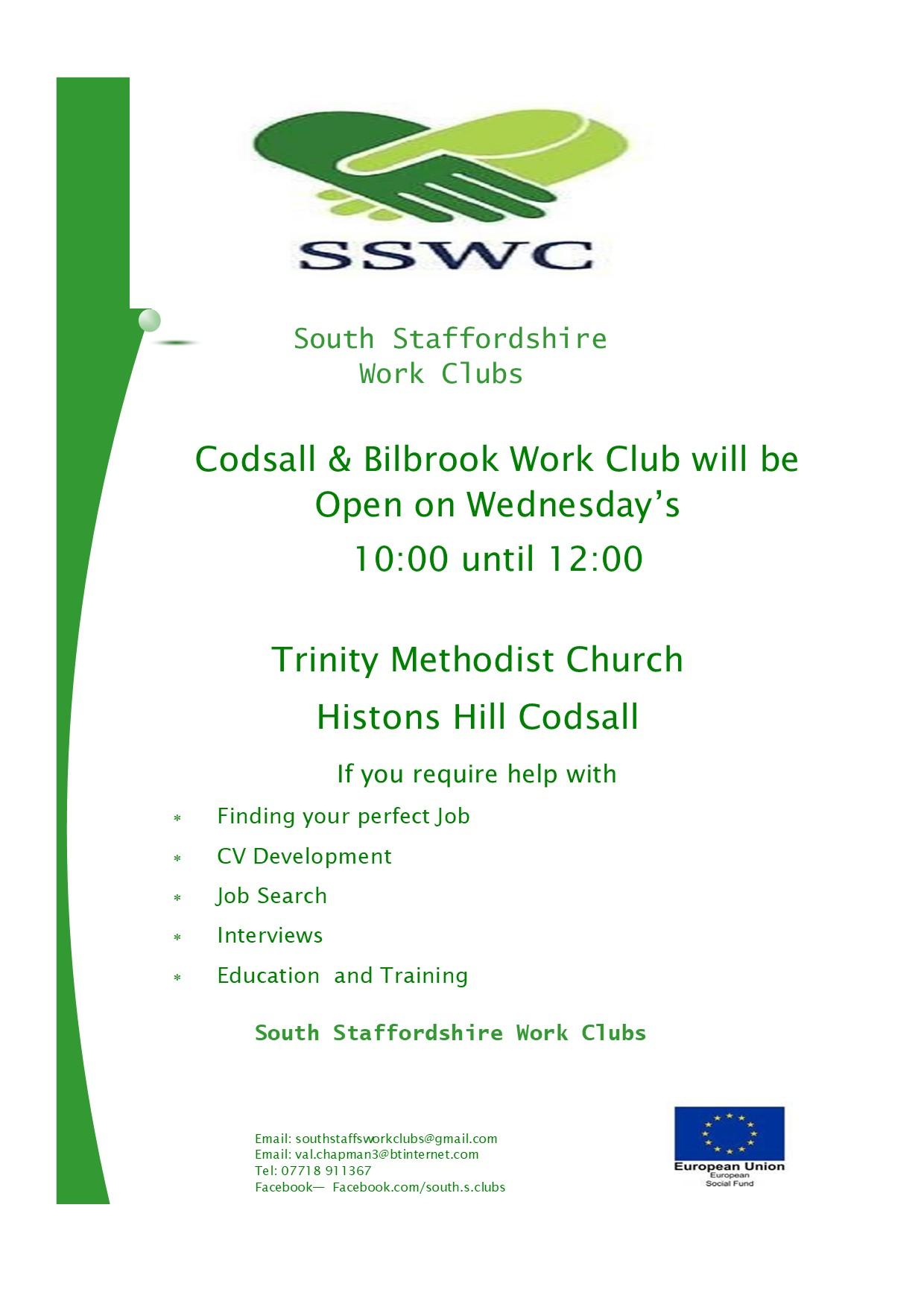 Codsall & Bilbrook Work Club